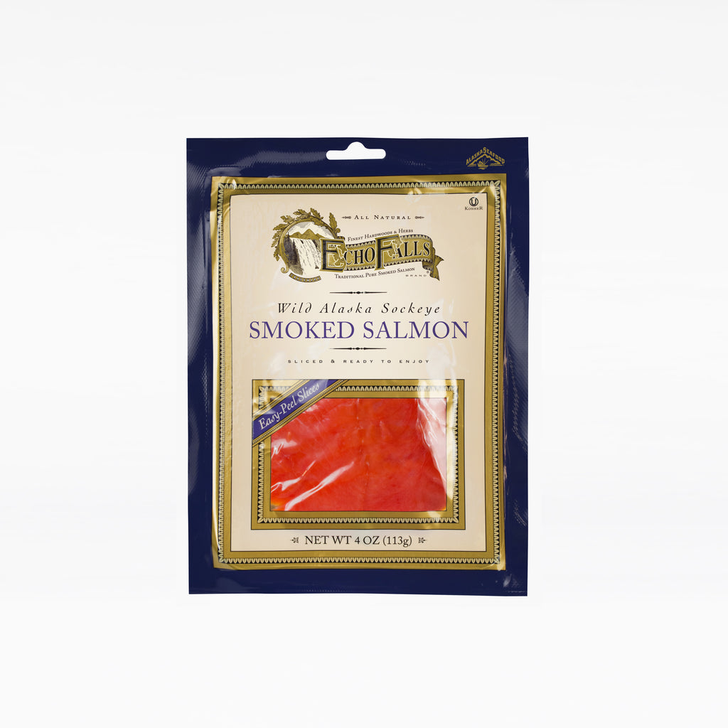 Echo Falls Sliced Sockeye Smoked Salmon