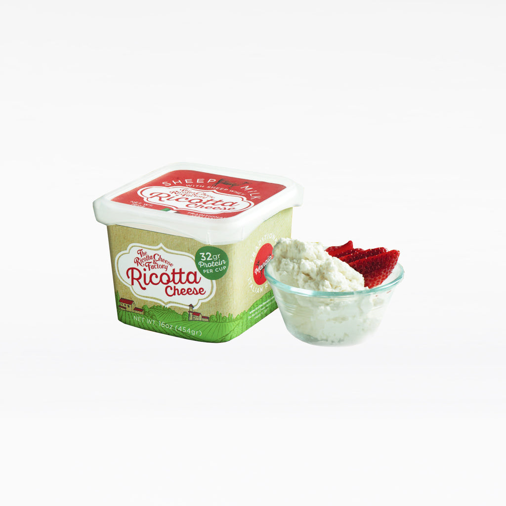 Sheep Whey Ricotta Cheese 16oz