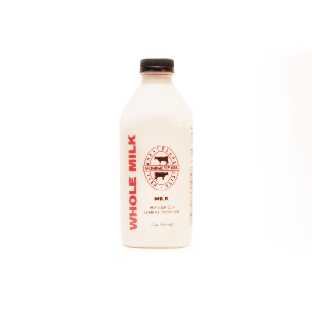 Ronnybrook Whole Milk 1qt
