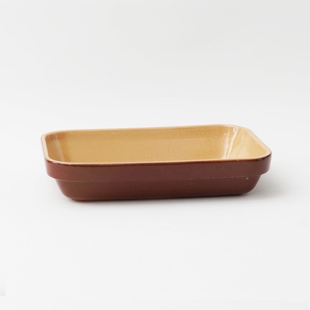 Poterie Renault small rectangular baking dish, .6L