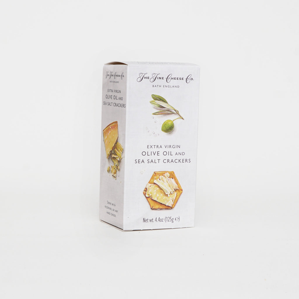 Fine Cheese Co. Olive Oil & Sea Salt Crackers