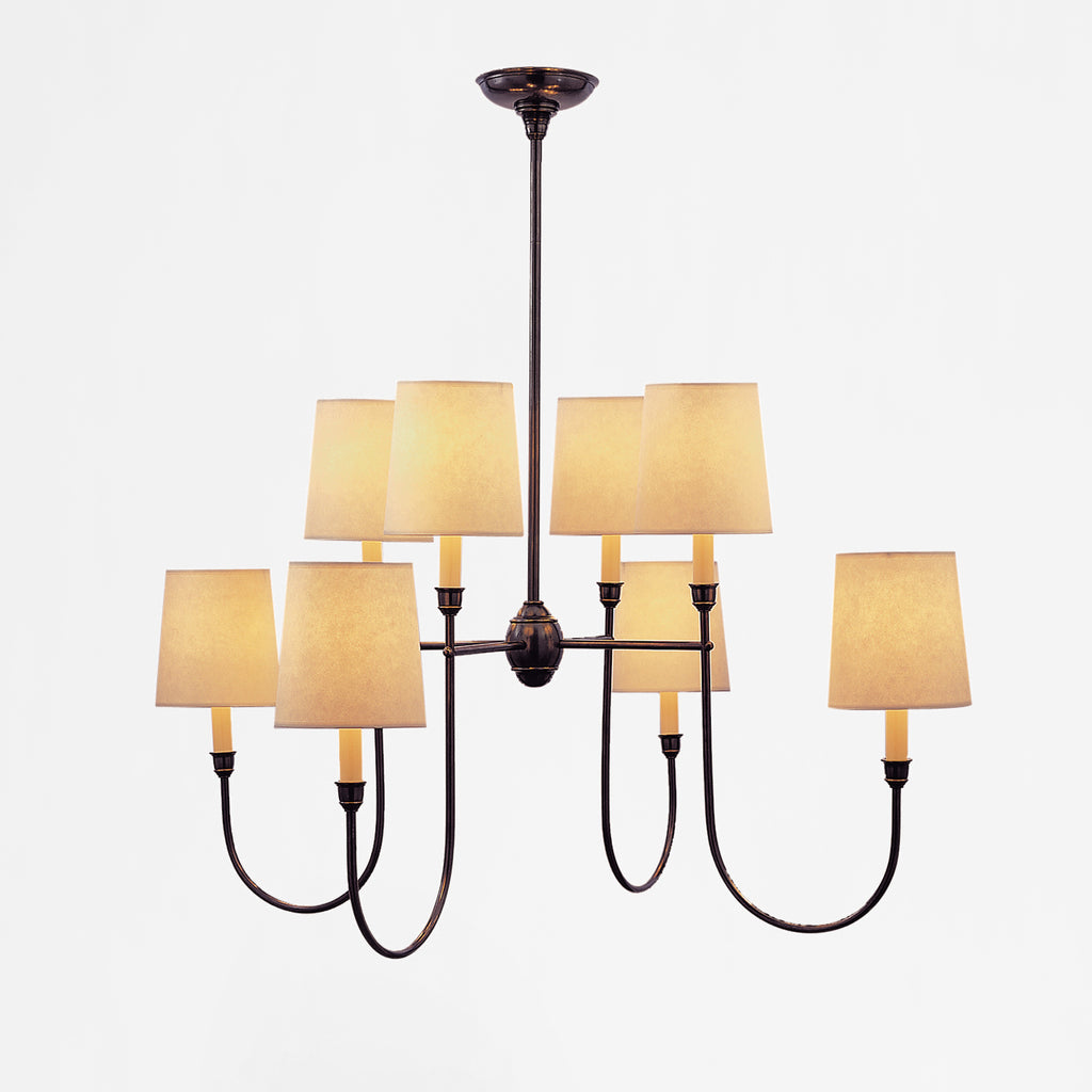 Vendome Eight Light Chandelier Ceiling Light
