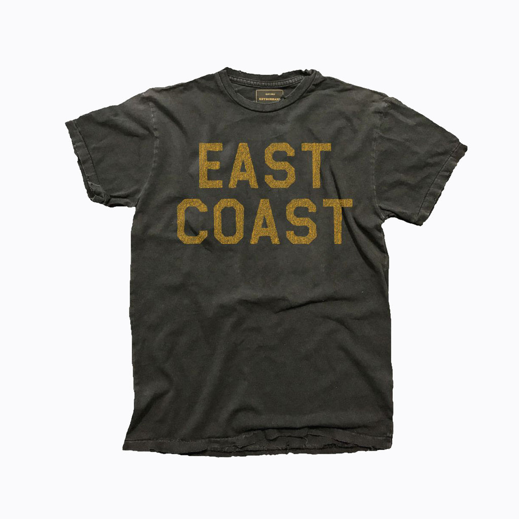 Black East Coast Tee