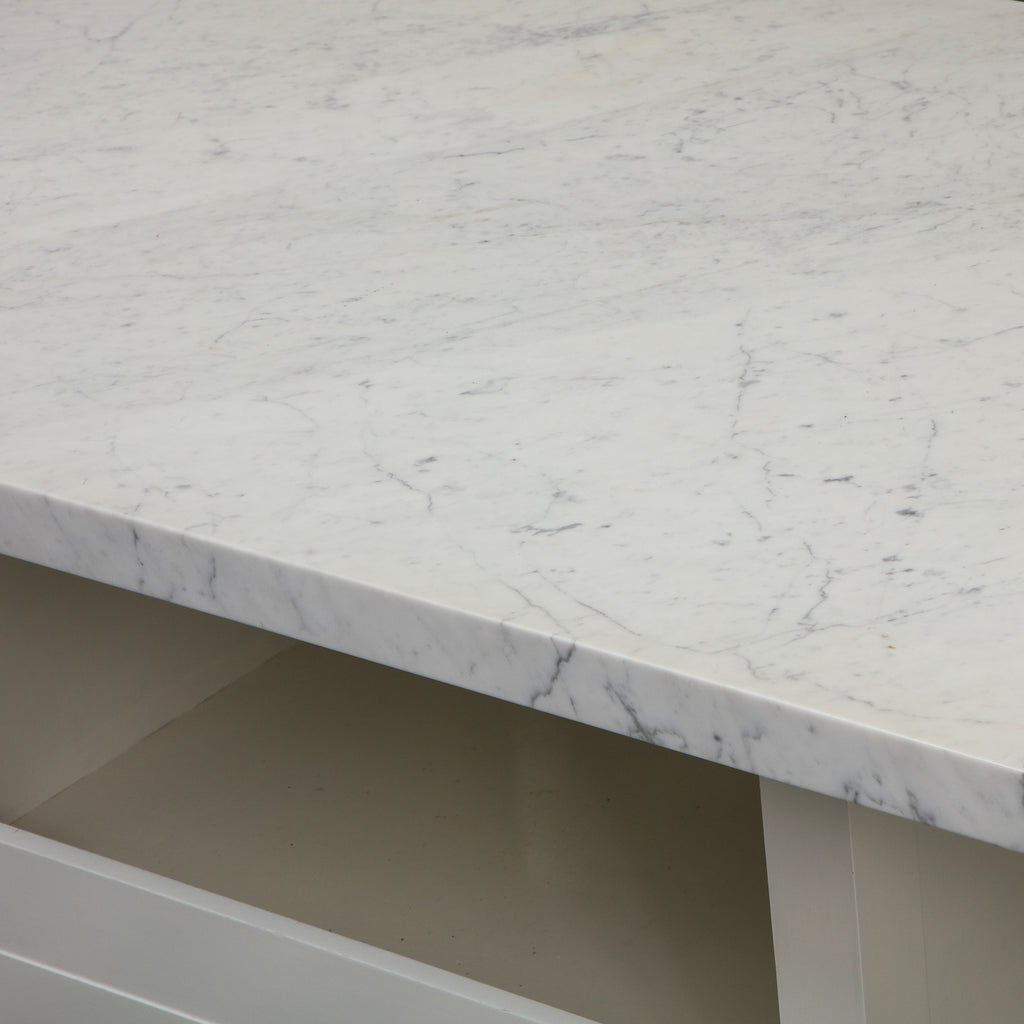 CB Marble Kitchen Island