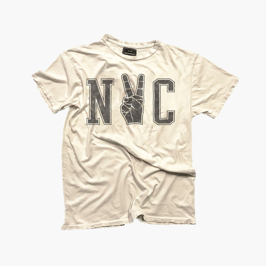 NYC Peace Fingers Tee