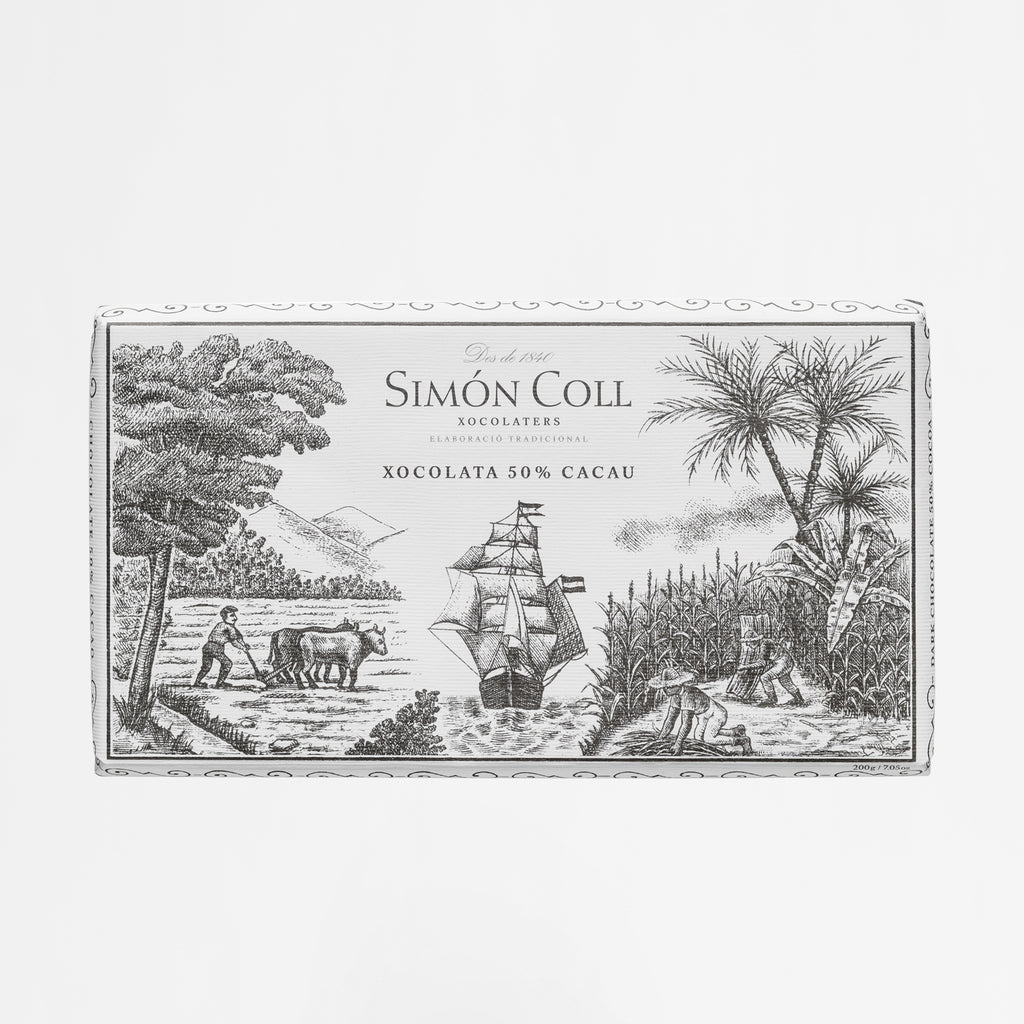 Simon Coll 50% Cocoa Chocolate 200g