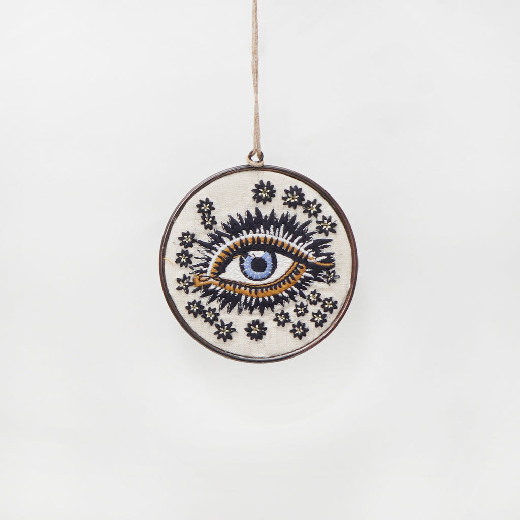 Smaller Lucky Eye Disc Ornament