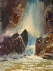 Falls of Colorado (Oil)