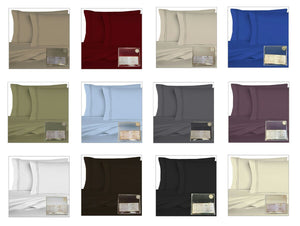 Home Crest Luxury 1800 Series 6pc Sheet Set