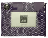 Bamboo Essence 1800 Series Flocking Collection 6pc Sheet set