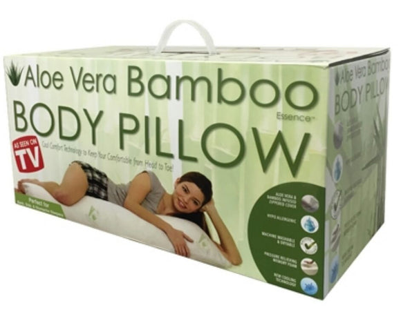 Aloe Vera Bamboo Body Pillow