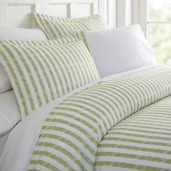 Rugged Stripes Duvet Cover Set 3pc