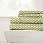 Puffed Chevron Sheet Set 4pc