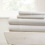 Stippled Bed Sheet Set 4pc