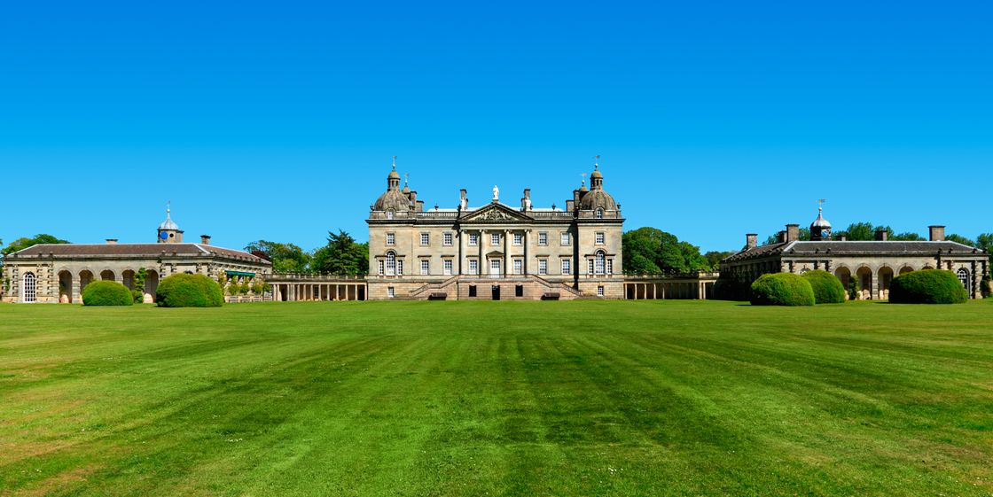 Houghton hall in Norforlk UK