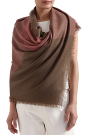 Echo-Hand-Woven-Cashmere-Scarf-Rose-Taupe-Kashmir-Loom