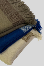 Gujjar Band Cashmere Throw