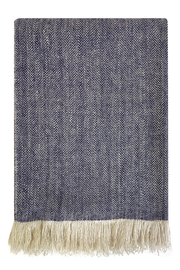 Gujjar Two Tone Cashmere Throw