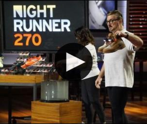 Night Runner on Shark Tank