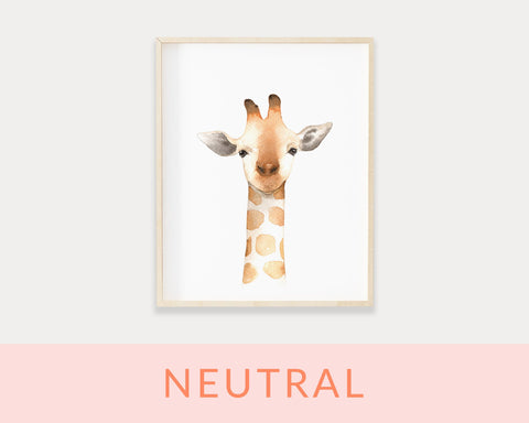 Neutral Animal Printables
