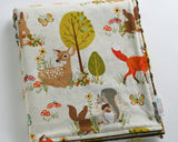 Forest Fellows Minky Baby Blanket