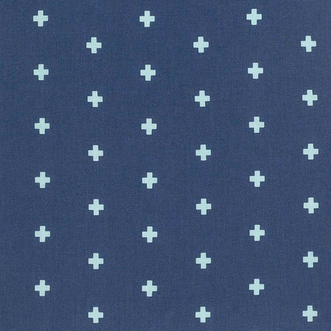 Blue Cross Changing Pad Cover or Fitted Crib Sheet