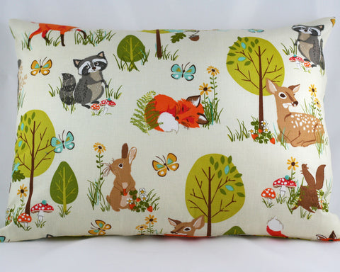 Forest Fellows Pillow Cover