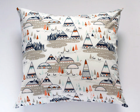 Woodland Oak Tee Pee Pillow Cover
