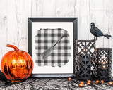 Witches Broom Halloween Printable Wall Art, Digital Download