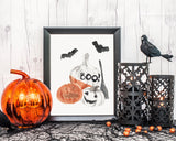 Halloween Printable Wall Art, Digital Download