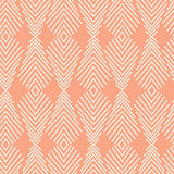 Peach Feather Arrows Fitted Crib Sheets or Changing Pad Cover