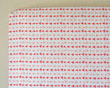 Follow Me Peach Arrows Changing Pad Cover or Fitted Crib Sheet