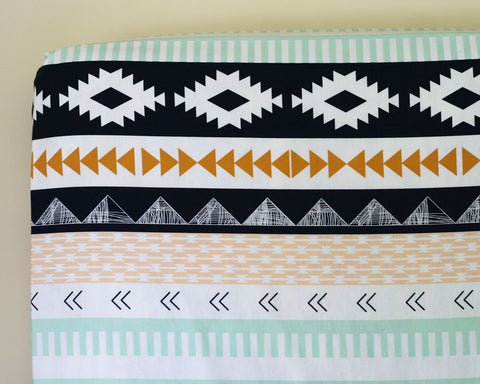 Arid Horizon Fitted Crib Sheet or Changing Pad Cover