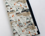 Woodland Oak Tee Pee Minky Lovey Blanket or Security Blanket