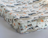 Woodland Oak Tee Pee Changing Pad Cover or Fitted Crib Sheet