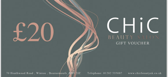 £20 Gift Voucher - Chic Accessory