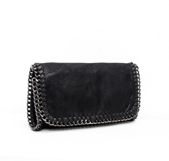 The Harper Clutch - Black