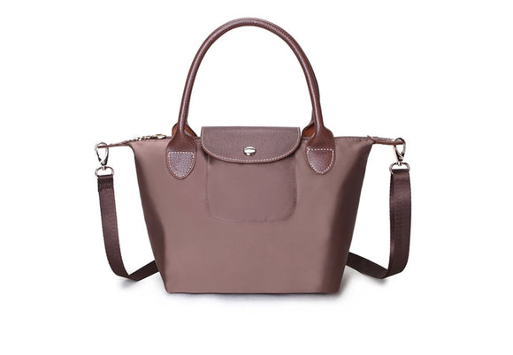 The Weekender Handbag - Brown - Chic Accessory