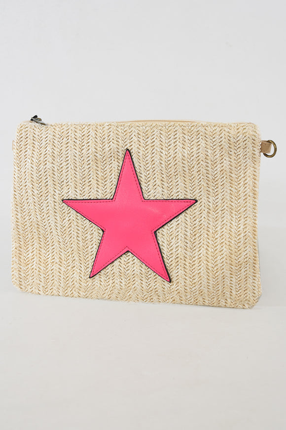 NEW Season Star Design Beach Clutch - 2 colours available