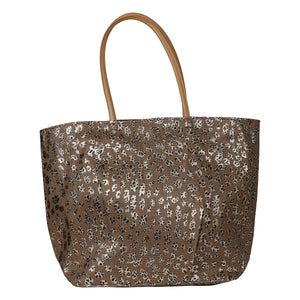 NEW Season Animal Print Metallic Beach Tote
