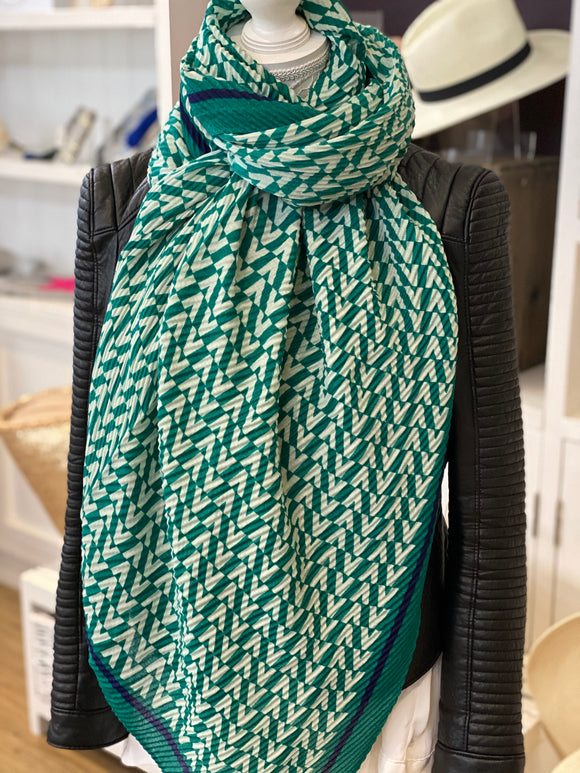 New Season Cleo Scarf - Green