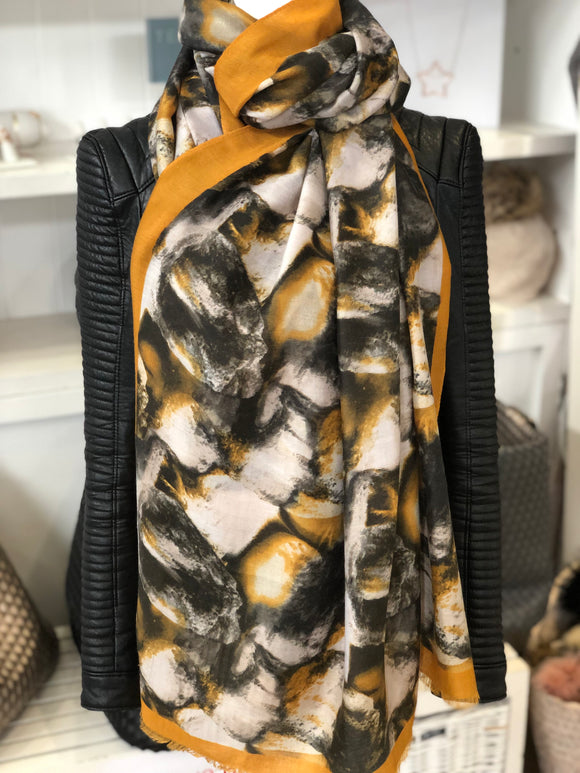 Sale The Kate Scarf - Yellow