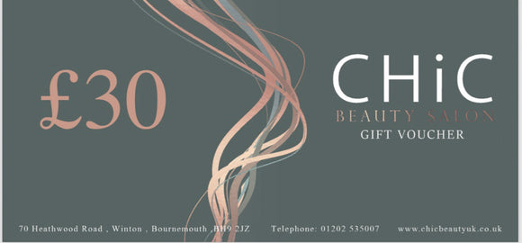 £30 Chic Gift Voucher - Chic Accessory