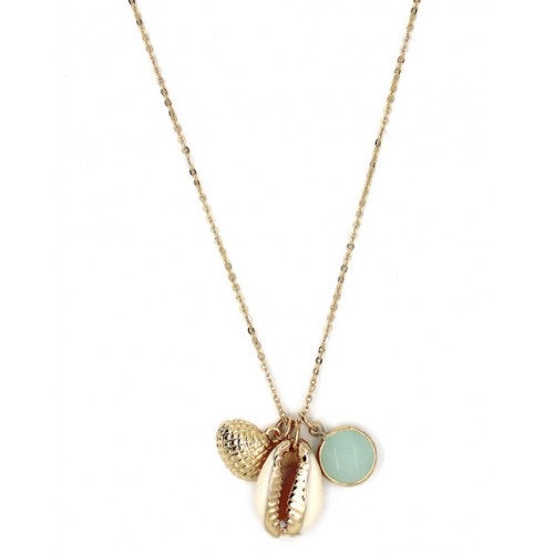 New Season Shell Trio Necklace