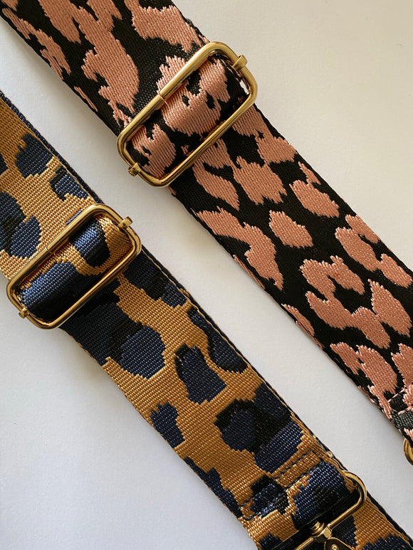 New Season Pink Leopard Bag Strap