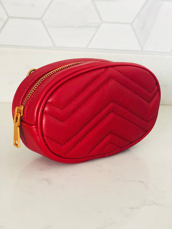 Red Clutch Bag - Chic Accessory