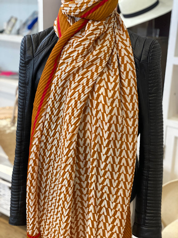 New Season Cleo Scarf - Mustard