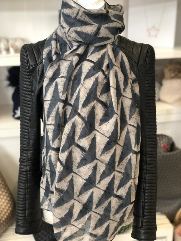 Sale The Lola Scarf - Grey