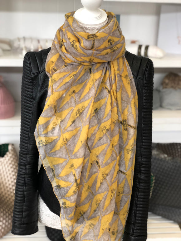 Sale The Lola Scarf - Yellow