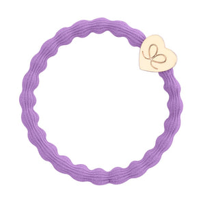 Gold Heart Band - Lilac